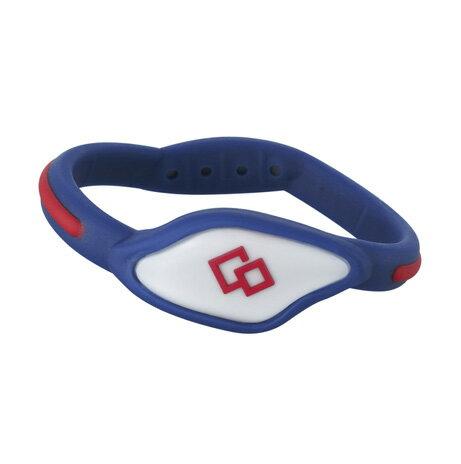 Colantotte直營網路專櫃FLEX LOOP 磁石運動手環/深藍×紅 - 限時優惠好康折扣