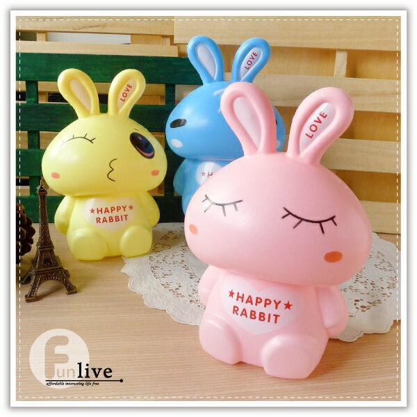 【aife life】卡通兔存錢筒/撲滿/兔兔存錢筒/動物存錢筒/兔子造型存錢筒/禮品贈品