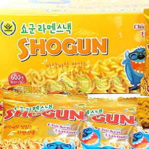 SHOGUN 怪獸香脆雞汁點心麵/脆麵 (整盒30小包入) [IN011A] - 限時優惠好康折扣