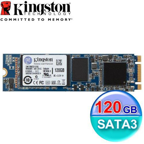 Kingston 金士頓 SSD MS200 120GB【SM2280S3G2】M.2 SATA介面 固態硬碟