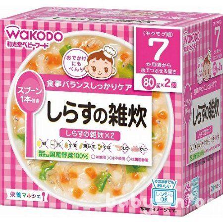 *R系列買六送一* Wakodo和光堂 - R1 ?仔魚蔬菜粥 7m (每周進貨效期有保障) 0