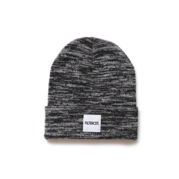 ►法西歐_桃園◄ Filter017 Knitted Beanie 麻花 電繡 獾 白 灰 黑 針織 編織 毛帽 灰色