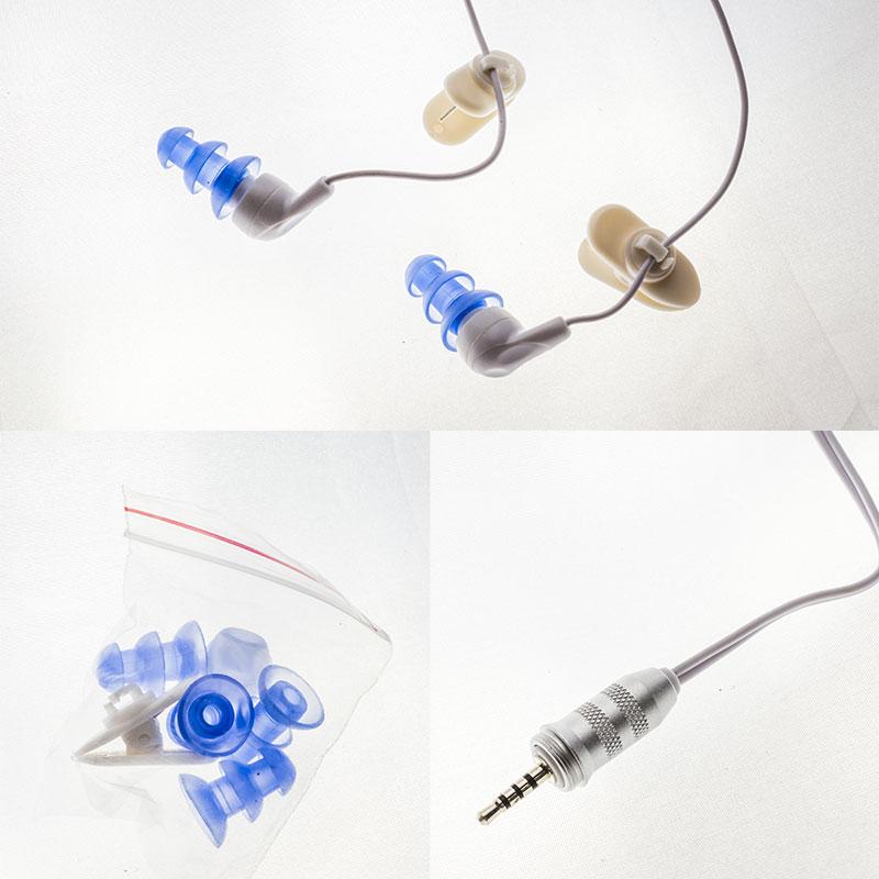 Dolphin一代專用防水MP3防水耳機 ◆NU旗艦店◆