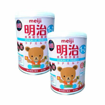 【悅兒樂婦幼用品舘】【新包裝】MEIJI 金選明治成長奶粉3號850g【2罐】