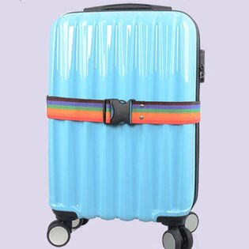 PS Mall 旅行防摔一字打包帶行李箱綑綁帶 【J1597】