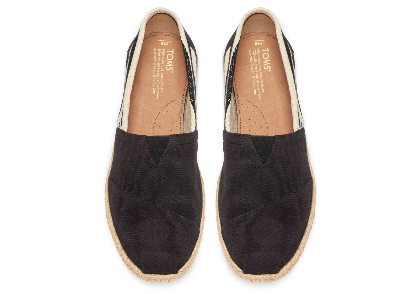 【TOMS】Black Stripe University Men's Classics 2