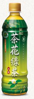 黑松茶花綠茶580ml(6入)【合迷雅好物商城】