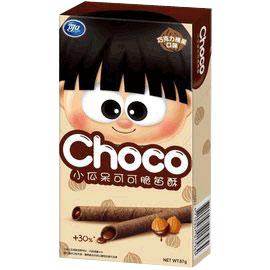 可口小瓜呆可可脆笛酥-巧克力榛果67g【合迷雅好物商城】