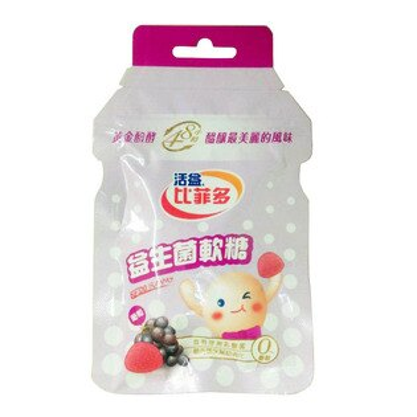 比菲多益生菌軟糖-葡萄30g【合迷雅好物商城】