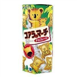 ●Lotte小熊餅乾巧克力37g-(6盒/組)【合迷雅好物商城】