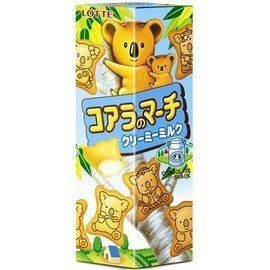 ●Lotte小熊餅乾牛奶37g-(6盒/組)【合迷雅好物商城】