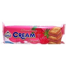 ●殷茂(利馬)夾心餅乾-草莓-6條/組【合迷雅好物商城】