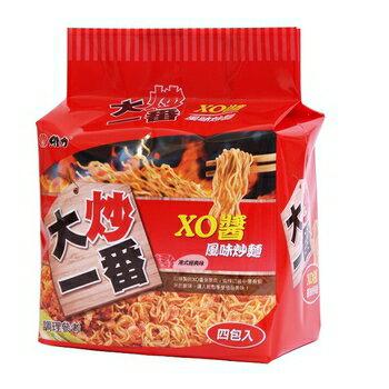 維力大炒一番泡麵85g(4入/袋)-XO醬【合迷雅好物商城】
