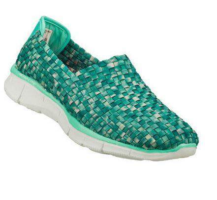 (特價) SKECHERS 女 時尚休閒系列EQUALIZER-12028MNT (編織鞋款) (陽光樂活)