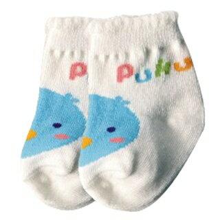 『121婦嬰用品館』PUKU 花邊初生襪(0-12m) - 白 0