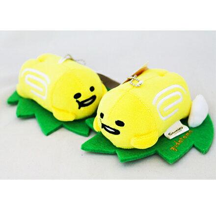 [敵富朗超市]4吋蛋捲燒蛋黃哥吊飾