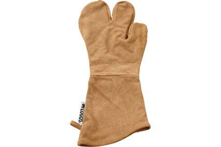 【露營趣】中和 日本 LOGOS LG81062204 BBQ專用皮手套 防燙手套 焚火露營 荷蘭鍋 烤箱
