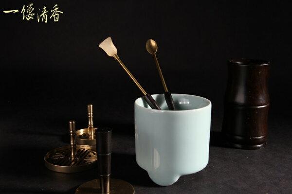 一縷清香 [純銅鏟子/勺子組] 台灣香 沉香 檀香 富山 如意  印尼 越南 紅土 奇楠 大樹茶