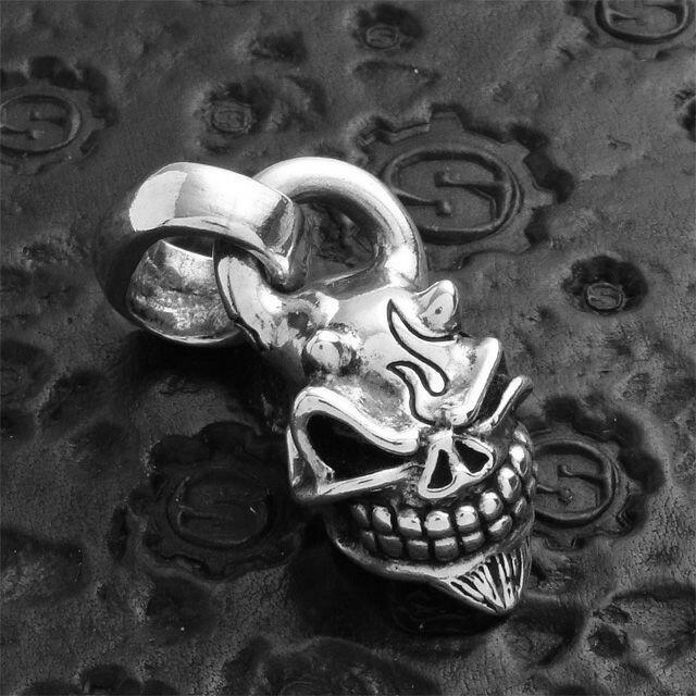 【現貨商品】【STARLINGEAR】日本鬼面般若骷髏墜飾 (STP004Devil  0123610000) 4