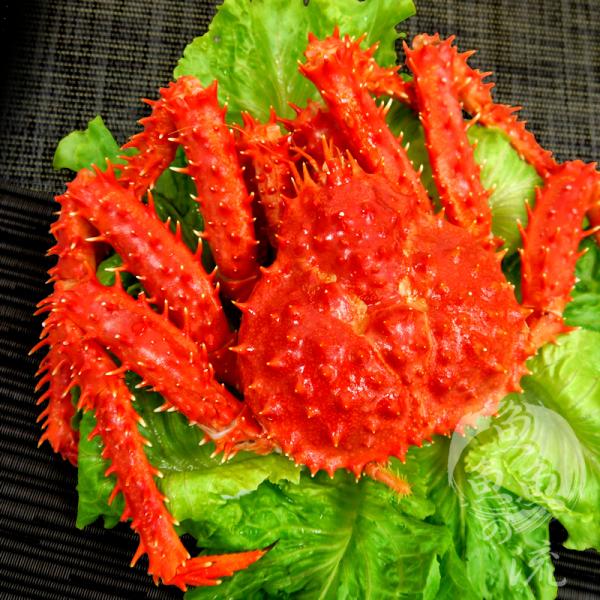 【鮮之流】智利熟凍帝王蟹, 1100g/隻