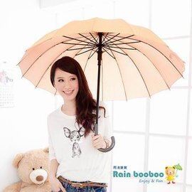 ●JAJA BABY●超大16骨拐杖自動傘 晴雨傘-抗UV