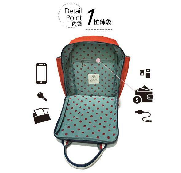 ★CORRE【JJ023】簡約時尚印刷小巧後背包★ 5