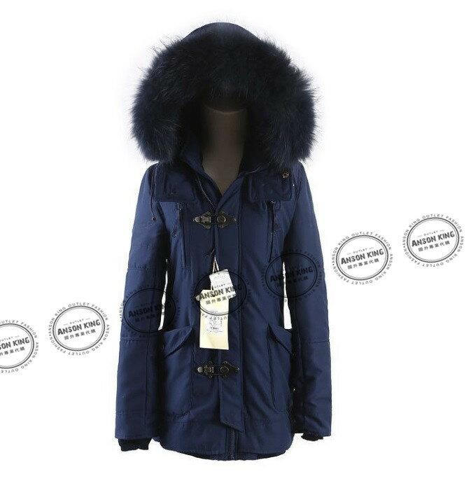 日本代購 正品 2015 SLY-N3B 秋冬長版短版 軍裝羽絨保暖連帽毛毛外套 四色可選 3