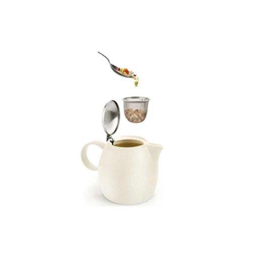 Tea Forte 普格陶瓷茶壺 - 果綠 Pistachio 1