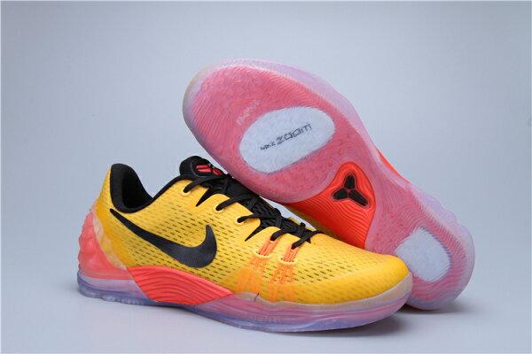 Nike Zoom Kobe Venomenon 5  男子籃球鞋 黑紅黃40-46