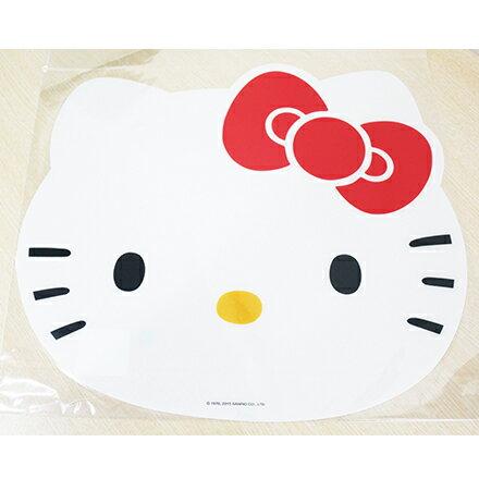 【敵富朗超巿】Hello Kitty造型餐墊 5