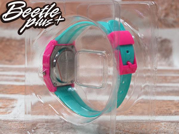 BEETLE PLUS 西門町經銷 美國潮牌 NEFF FLAVA WATCH PINK/CYAN 粉黃 TIFFANY綠 電子錶 NF-44 2