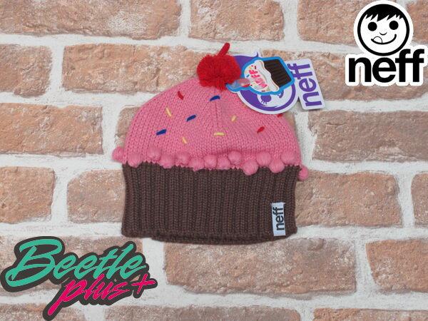 BEETLE PLUS 西門町實體店面 美國 NEFF CUPCAKE STRAWBERRY BEANIE 蛋糕 毛帽 蛋糕帽 馬卡龍 草莓 NF-76