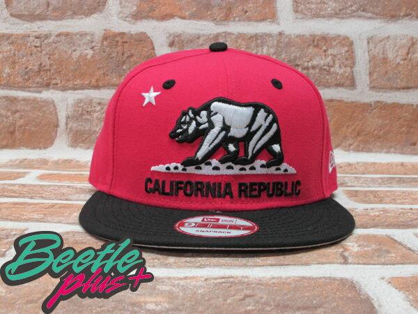 BEETLE PLUS 全新 NEW ERA NBA SNAPBACK 加州熊 黑 粉紅 SOUTH BEACH JORDAN CEMENT CALIFORNIA BEAR NE-41 0