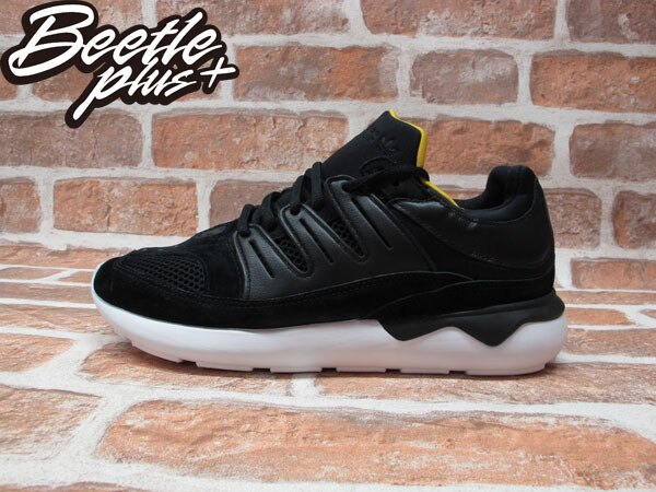 BEETLE ADIDAS ORIGINALS TUBULAR 93 OG 黑黃 黑武士 QASA Y3 B25863