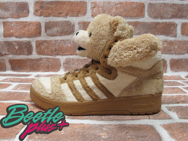 BEETLE PLUS 全新 ADIDAS ORIGINALS OBYO X JEREMY SCOTT X TEDDY BEARS 泰迪熊 棕色 G44000