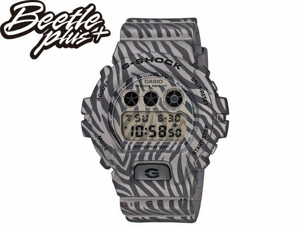 BEETLE PLUS 全新 2014 CASIO G-SHOCK DW-6900ZB-8DR 銀 黑 斑馬 迷彩 紋路 叢林 三顯 手錶 卡西歐 WATCH 0