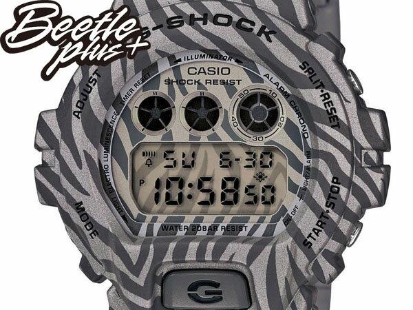 BEETLE PLUS 全新 2014 CASIO G-SHOCK DW-6900ZB-8DR 銀 黑 斑馬 迷彩 紋路 叢林 三顯 手錶 卡西歐 WATCH 1