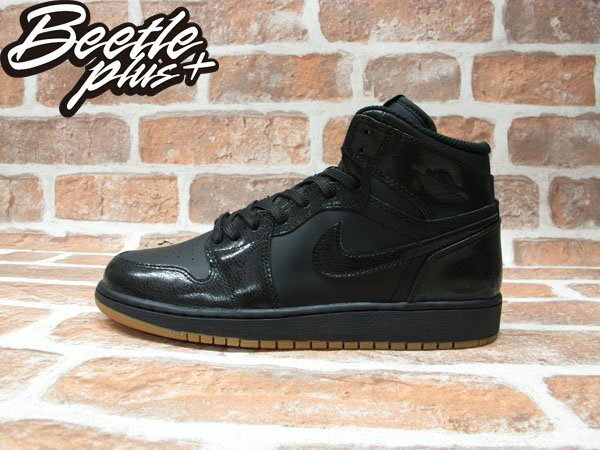 BEETLE PLUS NIKE AIR JORDAN 1 RETRO HIGH OG GS 全黑 女鞋 575441-020 0
