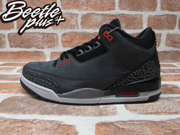 BEETLE PLUS 全新 NIKE AIR JORDAN 3 RETRO GS FEAR 恐懼 深灰 黑橘 爆裂紋 626968-040 0
