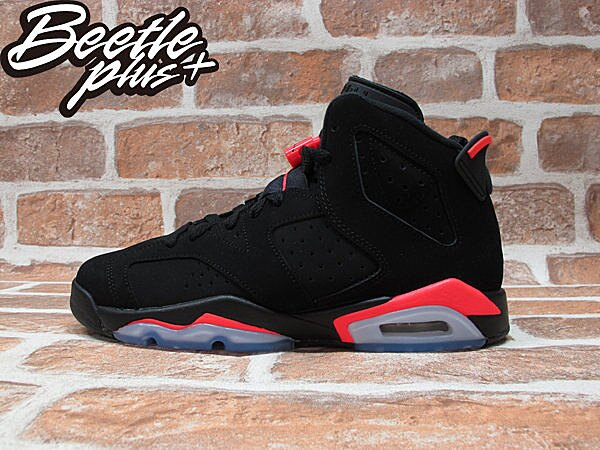 BEETLE PLUS NIKE AIR JORDAN 6 RETRO GS INFRARED 黑紅 女鞋 384665-023 0