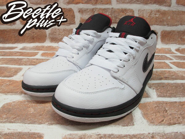 BEETLE PLUS 西門町 現貨 全新 NIKE AIR JORDAN 1 RETRO PHAT LOW 低筒 喬丹 一代 白黑 白紅 338145-161 1