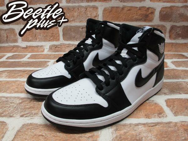 BEETLE PLUS NIKE AIR JORDAN 1 RETRO HIGH OG 黑白 男鞋 555088-010 2
