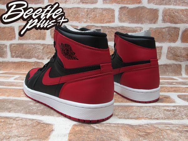 BEETLE PLUS 西門町經銷 全新 NIKE AIR JORDAN 1 RETRO HIGH HI OG BLACK RED BRED AJ 1 一代 黑紅 555088-023 男鞋 2