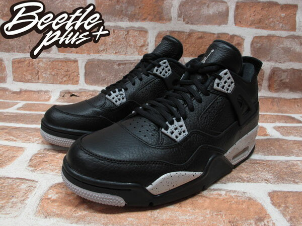 BEETLE PLUS NIKE AIR JORDAN 4 RETRO OREO 奧利奧 男鞋 荔枝皮 314254-003 1