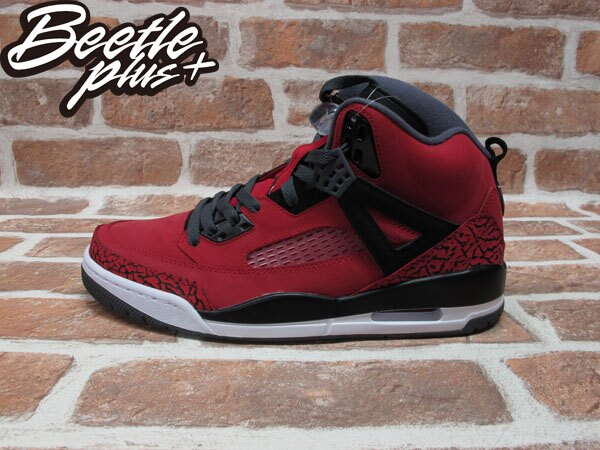 BEETLE PLUS 全新 NIKE AIR JORDAN SPIZIKE MARS BLACKMON AJ合體 史派克李 315371-601 紅 爆裂紋 0