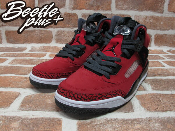 BEETLE PLUS 全新 NIKE AIR JORDAN SPIZIKE MARS BLACKMON AJ合體 史派克李 315371-601 紅 爆裂紋 1