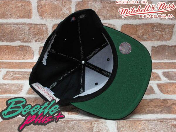 BEETLE PLUS MITCHELL&NESS NBA 布魯克林籃網 BROOKLYN NETS LOGO 黑 文字 SNAPBACK 後扣棒球帽 MN-131 2