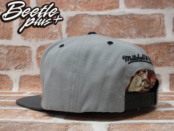 BEETLE PLUS 全新 MITCHELL&NESS NFL OAKLAND RAIDERS 奧克蘭 突擊者 灰 白 深灰 SNAPBACK 後扣棒球帽 MN-202 1