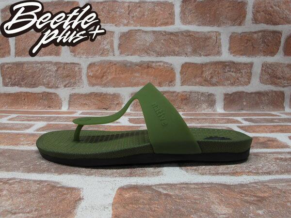 BEETE PLUS 西門町 NATIVE BLANCA 超輕量 SHERWOOD GREEN WHIT JIFFY BLACK 夾腳 拖鞋 防水 墨綠 黑 GLM12B-352 0