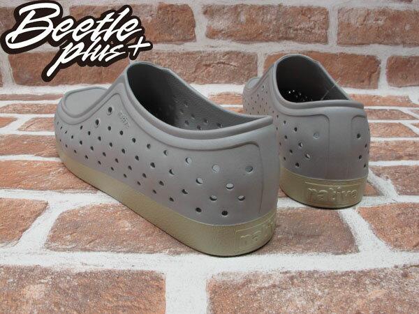 BEETLE PLUS 西門町經銷 現貨 NATIVE CORRADO PIGEON GREY 抗菌 淺灰 袋鼠鞋 GLM03-060 2